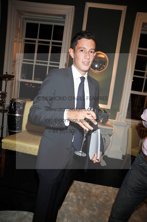JAMES ROTHSCHILD at the launch of Quintessentially Soho at the House of St Barnabas, 1 Greek Street, London on 29th September 2009.<br /> <br /> <br /> <br /> <br /> BYLINE MUST READ: donfeatures.com<br /> <br /> *THIS IMAGE IS STRICTLY FOR PAPER, MAGAZINE AND TV USE ONLY - NO WEB ALLOWED USAGE UNLESS PREVIOUSLY AGREED. PLEASE TELEPHONE 07092 235465 FOR THE UK OFFICE.*