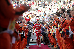 Sebastian Vettel beim Rennen des Grand Prix von Abu Dhabi auf dem Yas Marina Circuit / 271116<br /> <br /> ***Abu Dhabi Formula One Grand Prix on November 27th, 2016 in Abu Dhabi, United Arab Emirates - Racing Day ***