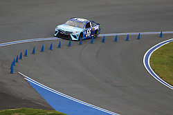 September 30, 2018 - Concord, North Carolina, United States of America - Timmy Hill (66) races during the Bank of America ROVAL 400 at Charlotte Motor Speedway in Concord, North Carolina. (Credit Image: © Chris Owens Asp Inc/ASP via ZUMA Wire)