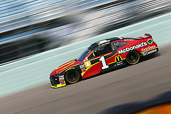 November 17, 2018 - Homestead, Florida, U.S. - Jamie McMurray (1) takes to the track to practice for the Ford 400 at Homestead-Miami Speedway in Homestead, Florida. (Credit Image: © Justin R. Noe Asp Inc/ASP)