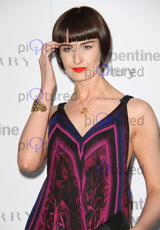 Erin O'Connor The Serpentine Gallery Summer Party 2011 with Burberry, Kensington Gardens, London, UK, 28 June 2011:  Contact: Rich@Piqtured.com +44(0)7941 079620 (Picture by Richard Goldschmidt)