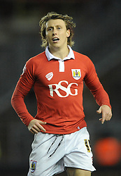 Bristol City's Luke Freeman - Photo mandatory by-line: Dougie Allward/JMP - Mobile: 07966 386802 - 29/01/2015 - SPORT - Football - Bristol - Ashton Gate - Bristol City v Gillingham - Johnstone Paint Trophy