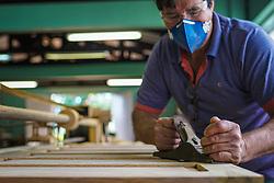 14ª CRE – ESC. EST. TÉCNICA GUARAMANO, em Guarani das Missões. Reconstrução da marcenaria. R$ 150 mil. FOTO: Jefferson Bernardes/ Agência Preview