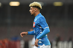 October 28, 2018 - Naples, Naples, Italy - Kevin Malcuit of SSC Napoli during the Serie A TIM match between SSC Napoli and AS Roma at Stadio San Paolo Naples Italy on 28 October 2018. (Credit Image: © Franco Romano/NurPhoto via ZUMA Press)