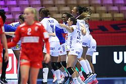 EHF Euro 2020 Group A match between France and Denmark in Jyske Bank Boxen, Herning, Denmark on December 8, 2020. Photo Credit: Allan Jensen/EVENTMEDIA.