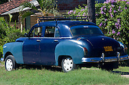 Old car in Manzanillo, Granma Province, Cuba.