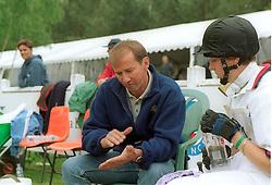 Rigouts Marc and Caulier Virginie<br /> CCI*** Saumur 2000<br /> Photo © Dirk Caremans