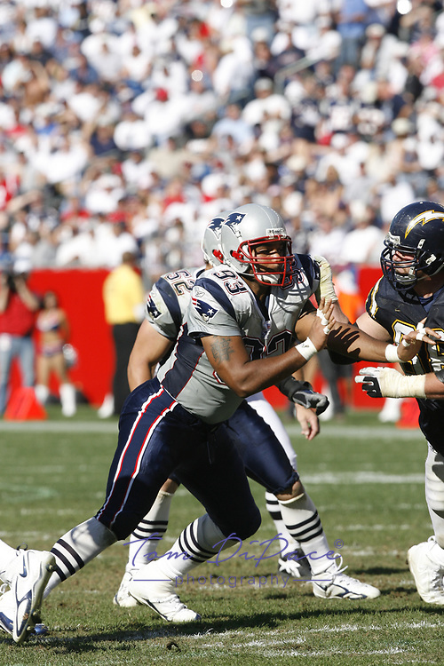 New England Patriots Richard Seymour plays in game against the Seattle Seahawks.<br /> (Tom DiPace)