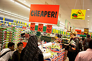 Cheaper food and goods available at a Lidl supermarket store. Lidl is a German discount supermarket chain that operates over 7200 stores across Europe. The company's full name is Lidl Stiftung & Co. KG. It belongs to the holding company Schwarz, which also owns the store chains Handelshof and Kaufland. Founded in the 1930s by a member of the Schwarz family (Schwarz Assorted wholesale Foods)], Lidl has – since the opening in 1973 of the first of its stores in their present incarnation – now established itself in over 20 countries in Europe. Lidl has become synonymous with the words bargain, cheap, discount, affordable; cheaper.