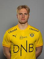 Fotball , Eliteserien 2021 , portrett , portretter ,  Lillestrøm , LSK<br /> <br /> Jonatan Braut-Brunes