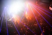 Atmosphere from the Bass Room inside the Old Rock House at first annual Pulse Festival in St. Louis on June 9, 2012.