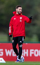 CARDIFF, WALES - Monday, March 29, 2021: Wales' Josh Sheehan during a training session at the Vale Resort ahead of the FIFA World Cup Qatar 2022 Qualifying Group E game against the Czech Republic. (Pic by David Rawcliffe/Propaganda)