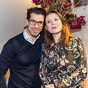 NLD/Amsterdam/20181028 - Premiere Expeditie Eiland, Oren Schrijver en partner Céline Purcell