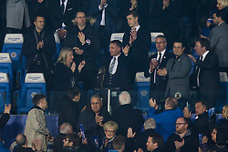 New Leicester City Manager Brendon Rodgers waves to the crowd at The King Power Stadium - Mandatory by-line: Robbie Stephenson/JMP - 26/02/2019 - FOOTBALL - King Power Stadium - Leicester, England - Leicester City v Brighton and Hove Albion - Premier League