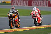 Marc Marquez followed by Nicolas Terol