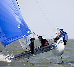 08_003625 © Sander van der Borch. Medemblik - The Netherlands,  May 24th 2008 . Day 4 of the Delta Lloyd Regatta 2008.