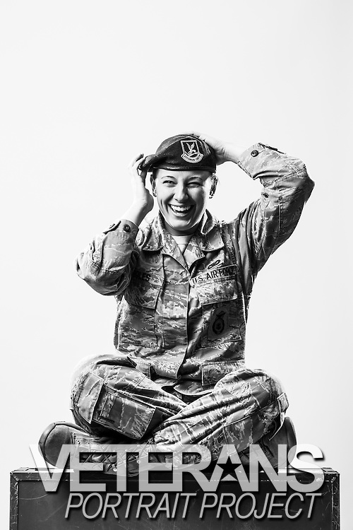 Ashley Boles is an active duty Air Force Security Forces operator who currently holds the rank of E-4 and enlisted on Feb. 21, 2012.<br /> <br /> Veterans Portrait Project<br /> 802d Security Forces Squadron<br /> San Antonio, TX