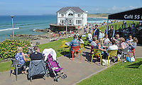 GV, general view, Arcadia, Portrush, Co Antrim, N Ireland, UK, 201406213165<br /> <br /> Copyright Image from Victor Patterson, 54 Dorchester Park, Belfast, UK, BT9 6RJ<br /> <br /> t1: +44 28 9066 1296 (from Rep of Ireland 048 9066 1296)<br /> t2: +44 28 9002 2446 (from Rep of Ireland 048 9002 2446)<br /> m: +44 7802 353836<br /> <br /> victorpattersonbelfast@gmail.com<br /> www.victorpatterson.com<br /> <br /> Please see my Terms and Conditions of Use at http://www.c1382010.myzen.co.uk/pdf/Terms%20&%20Conditions.pdf  It is IMPORTANT that you familiarise yourself with them.<br /> <br /> Images used on the Internet incur an additional cost and must be visibly watermarked i.e. ©Victor Patterson within the body of the image and copyright metadata must not be deleted. Images used on the Internet have a size restriction of 4kbs and are chargeable at rates available at victorpattersonbelfast@gmail.com.<br /> <br /> This image is only available for the use of the download recipient i.e. television station, newspaper, magazine, book publisher, etc, and must not be passed on to any third party. It is also downloaded on condition that each and every usage is notified within 7 days to victorpattersonbelfast@gmail.com.<br /> <br /> The right of Victor Patterson to be identified as the author is asserted in accordance with The Copyright Designs And Patents Act (1988). All moral rights are asserted.