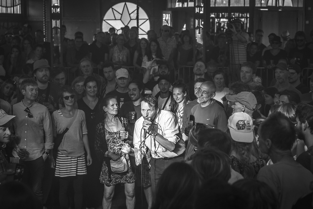 German avantgarde project White Wine at Haldern Pop Festival