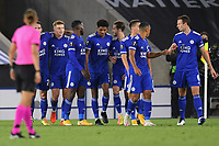 Football - 2020 / 2021 Europa League - Group F - Leicester City vs Zorya Luhansk - King Power Stadium<br /> <br /> Leicester City's Harvey Barnes celebrates scoring his side's second goal.<br /> <br /> COLORSPORT/ASHLEY WESTERN