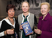 03/11/2016 Repro fee: Rita Gilligan's book The Rock 'n' Roll Waitress from The Hard Rock Cafe My Life in Hotel Meyrick, Galway was launched my Cllr. Noel Larkin Mayor of Galway. At the launch were  Liz Ward, Mervue, Deirdre Kelly Renmore and Breda Murphy Bohermore<br />   Photo :Andrew Downes, XPOSURE