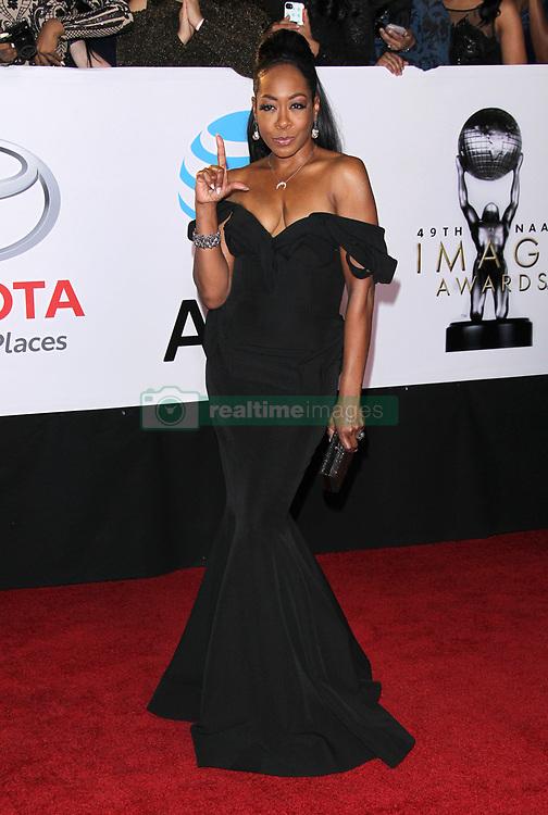 49th Annual NAACP Image Awards - Los Angeles. 15 Jan 2018 Pictured: Tichina Arnold. Photo credit: Jaxon / MEGA TheMegaAgency.com +1 888 505 6342