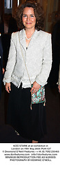 KOO STARK at an exhibition in London on 19th May 2004.PUH 137
