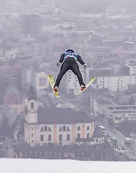 22.02.2019, Bergiselschanze, Innsbruck, AUT, FIS Weltmeisterschaften Ski Nordisch, Seefeld 2019, Nordische Kombination, Skisprung, im Bild Bernhard Gruber (AUT) // Bernhard Gruber of Austria during the Ski Jumping competition for Nordic Combined of FIS Nordic Ski World Championships 2019. Bergiselschanze in Innsbruck, Austria on 2019/02/22. EXPA Pictures © 2019, PhotoCredit: EXPA/ JFK