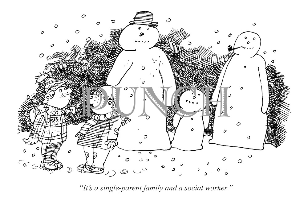 """""""It's a single-parent family and a social worker."""""""