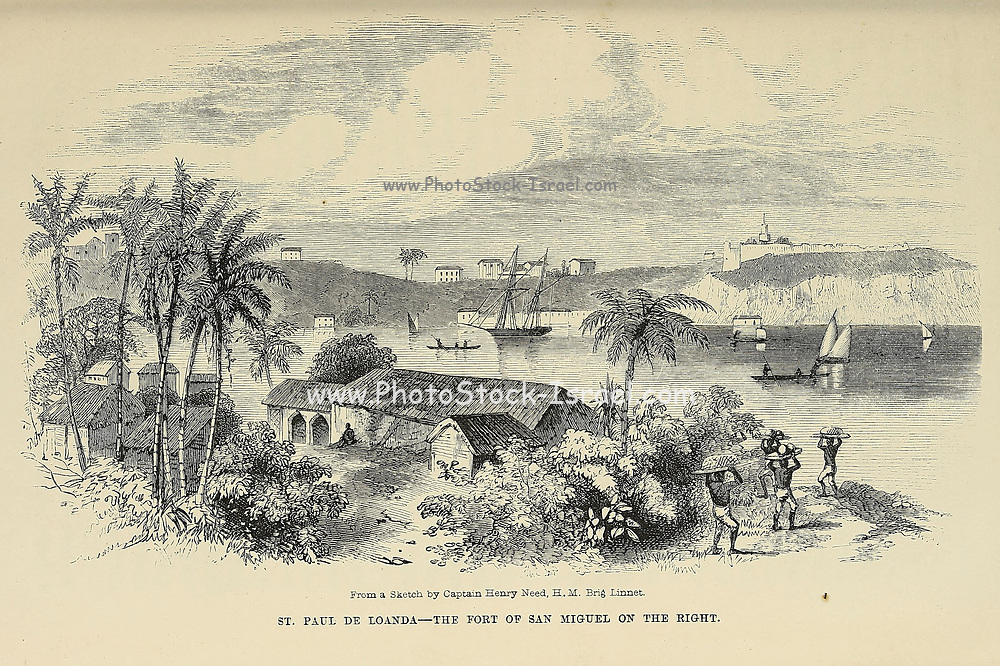 From book ' Missionary travels and researches in South Africa : including a sketch of sixteen years' residence in the interior of Africa, and a journey from the Cape of Good Hope to Loanda, on the west coast, thence across the continent, down the river Zambesi, to the eastern ocean ' by David Livingstone Published in London in 1857