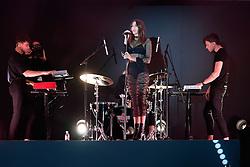 September 28, 2016 - Paris, France - Dua Lipa chante pendant le defile - Etam Live Show 100ans - 27 septembre 2016 - Centre Georges Pompidou - Paris - France (Credit Image: © Visual via ZUMA Press)