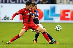 Schalke 04 and Bayer Leverkusen - 29 Sept 2017