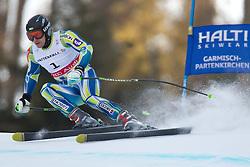 09.02.2011, Kandahar, Garmisch Partenkirchen, GER, FIS Alpin Ski WM 2011, GAP, Herren Super G, im Bild Ales Gorza (SLO) // Ales Gorza (SLO) during Men Super G, Fis Alpine Ski World Championships in Garmisch Partenkirchen, Germany on 9/2/2011. EXPA Pictures © 2011, PhotoCredit: EXPA/ J. Groder