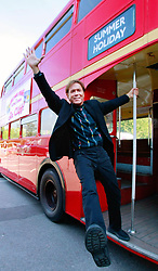File photo dated 20/9/2008 of Sir Cliff Richard, who has won his legal action against the BBC over coverage of a police raid at his apartment in Berkshire in August 2014, on a Routemaster Bus before the unveiling of a commemorative plaque in honour of Sir Cliff Richard at Elstree Studios.