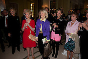 PRINCES MICHAEL OF KENT; ELIZABETH AITKEN; SANDRA HOWARD; MAYA VON SCHONBURG, , Book launch of Lady Annabel Goldsmith's third book, No Invitation Required. Claridges's. London. 11 November 2009