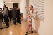 SILVIA ZIRANEK, Opening for Nick Waplington's Alexander McQueen photography exhibition and Christina Mackie's Tate Britain Commission. Tate Britain. London. 23 March 2015