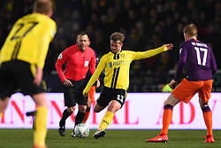 January 23, 2019 - Burton-Upon-Trent, Staffordshire, United Kingdom - Burton Albion midfielder David Templeton (11) during the Carabao Cup match between Burton Albion and Manchester City at the Pirelli Stadium, Burton upon Trent on Wednesday 23rd January 2019. (Credit: MI News & Sport) (Credit Image: © Mark Fletcher/NurPhoto via ZUMA Press)