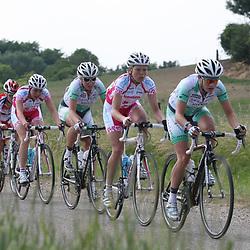 Sportfoto archief 2006-2010<br /> 2010<br /> NK op de weg vrouwen gewonnen door Loes Gunnewijk