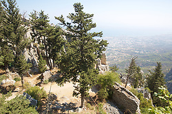 View From St. Hilarion Castle