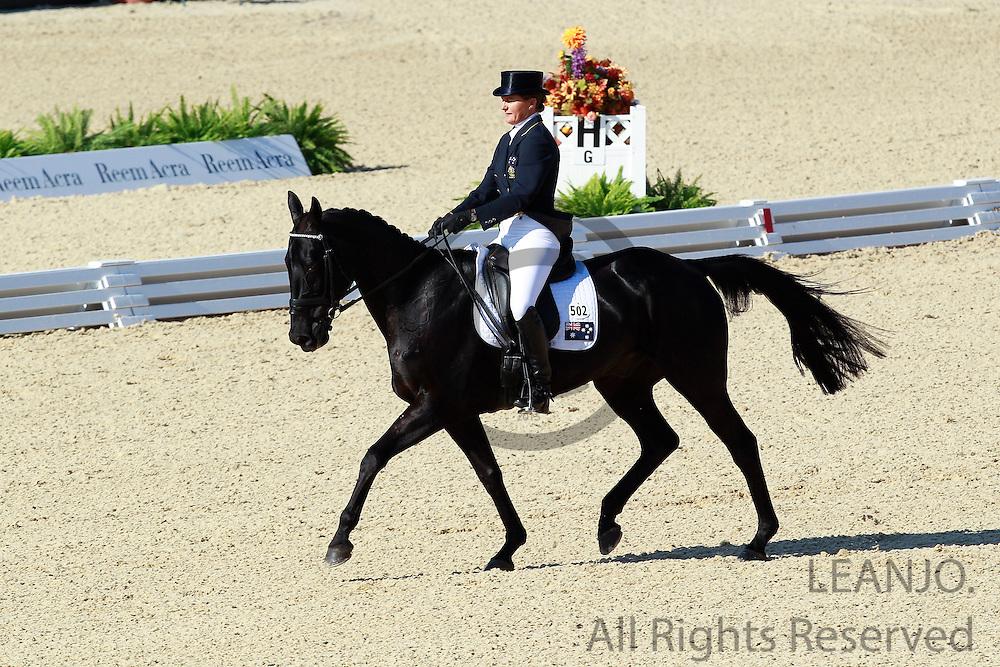 Sonia Johnson - Ringwould Jaguar<br /> Alltech FEI World Equestrian Games <br /> Lexington - Kentucky 2010<br /> © DigiShots