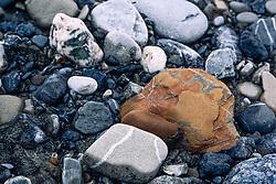 Rocks, Aichilik River, Arctic National Wildlife Refuge (ANWR), Alaska, US