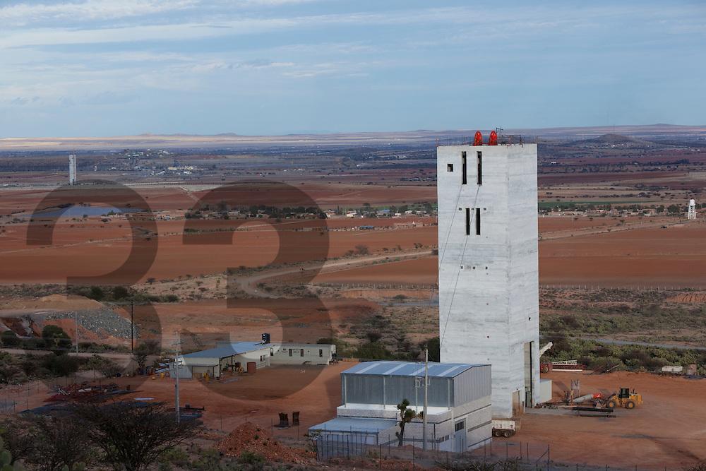 The Saucito project, future silver mine adjacent to the Fresnillo mine. In the state of Zacatecas, Mexico.