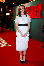 Violet Manners attending the Tomb Raider European Premiere held at Vue West End in Leicester Square, London.