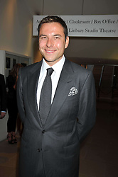 DAVID WALLIAMS at the annual GQ Awards held at the Royal Opera House, Covent Garden, London on 8th September 2009.