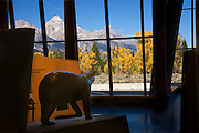 New visitor center in Grand Teton National Park, Wyoming.