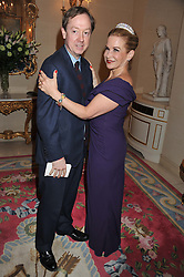 GEORDIE GRIEG and GERRI GALLAGHER at Tatler's Jubilee Party in association with Thomas Pink held at The Ritz, Piccadilly, London on 2nd May 2012.