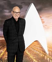 Patrick Stewart at the 'Star Trek: Picard'  premiere, London, UK 15th  Jan 2020<br /> <br /> Ian McKellen and Patrick Stewart