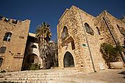 Renovated old town of Jaffa, Israel now an artist colony and tourist attraction. Jaffa Israel