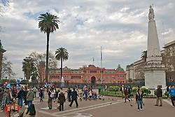 Liberation Statue, Plaza de Mayo, May 25 1810