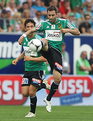 29.04.2012, Keine Sorgen Arena, Ried, AUT, 1. FBL, SV Josko Ried vs SK Rapid Wien, 32. Spieltag, im Bild Ignacio Rodriguez-Ortiz, (SV Josko Ried, #11), during the Austrian Bundesliga Match, 32nd Round, between SV Josko Ried and SK Rapid Wien at the Keine Sorgen Arena, Ried, Austria on 20120429. EXPA Pictures © 2012, PhotoCredit: EXPA/ R. Hackl